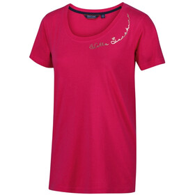 Regatta Filandra IV Maglietta a maniche corte Donna, virtual pink